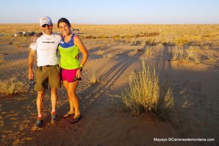 Sahara: Campamento en Biden para Raul y Alma, ya líderes.